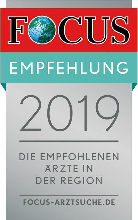 Focus-Empfehlung 2019
