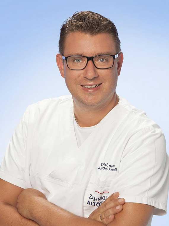 Dr. med. dent. Alexander Krauß, Zahnarzt