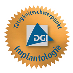 DGI-Siegel Implantologie