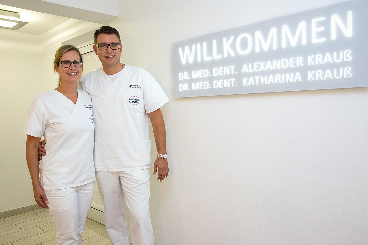 Berufsausübungsgemeinschaft (GbR) Dr. med. dent. Alexander Krauß und Dr. med. dent. Katharina Krauß