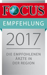 Focus-Empfehlung 2017
