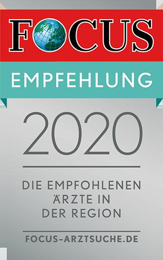 Focus-Empfehlung 2020
